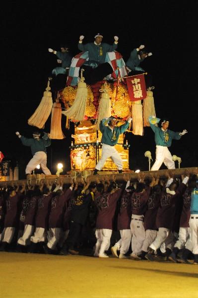 坂出市林田 林田ふるさと祭り 中川原太鼓台