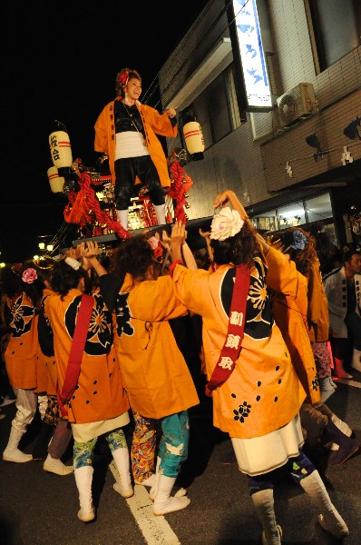 松山市平井町 おんなの秋祭り おんな神輿 さくら会