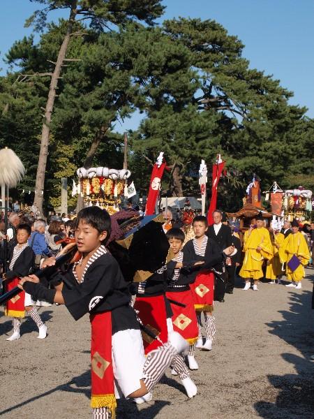 香川県観音寺市 琴弾八幡宮大祭   神幸祭