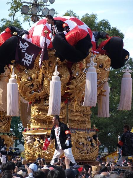 平成25年新居浜太鼓祭り 山根グラウンド 高祖太鼓台