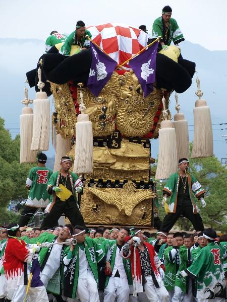 新居浜太鼓祭り 平成25年 八旗神社かきくらべ 阿島太鼓台