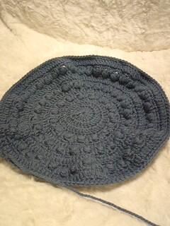 玉編みベレー12・5