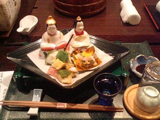 温泉夕飯1