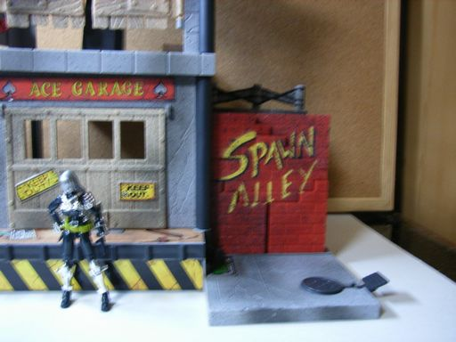 SPAWN ALLEY ACTION PLAY SET 005