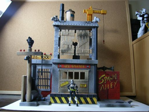 SPAWN ALLEY ACTION PLAY SET 004
