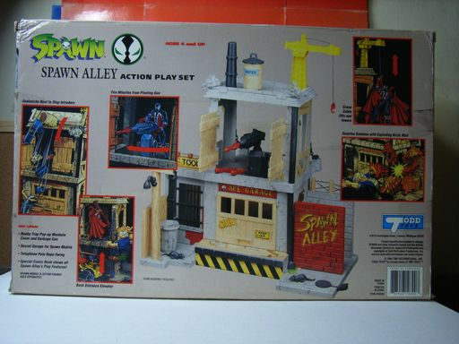 SPAWN ALLEY ACTION PLAY SET 003