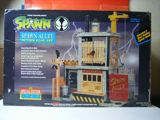 SPAWN ALLEY ACTION PLAY SET 002