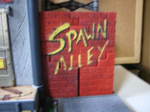 SPAWN ALLEY ACTION PLAY SET 009