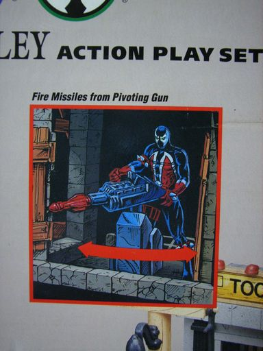 SPAWN ALLEY ACTION PLAY SET 019