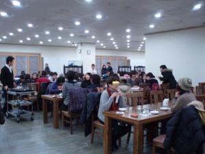 100105韓定食の朝食