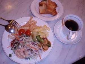 100107ホテル朝食