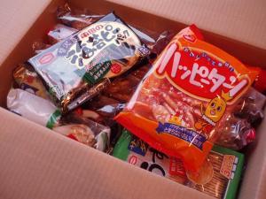 20101215恒例亀田製菓セット