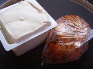 20101220手作りキムチとお豆腐