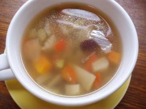 201012クリスマスランチ(スープ)