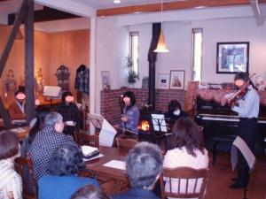 20110116二胡、ギター、ヴァイオリン
