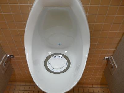 水を使わない男性便器
