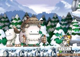 2月1日ー茶子vsスノウマン1