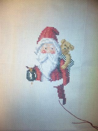 December Folk Santa