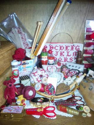 赤のコレクション