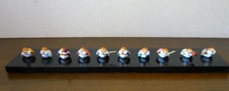 蜆雀ー10人囃子