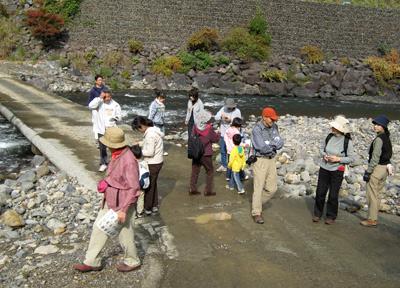 2008年「玖木の一日橋めぐり」もみじ祭開催081117a