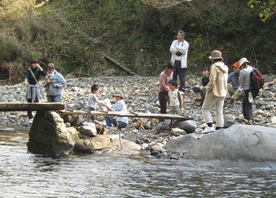 2008年「玖木の一日橋めぐり」もみじ祭開催081117b