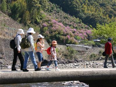 「玖木の一日橋めぐり」つつじ祭り2009090417a