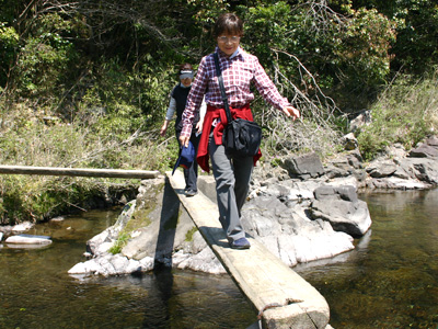 「玖木の一日橋めぐり」つつじ祭り2009090417c