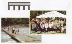 「玖木の一日橋めぐり」夏のアメゴ祭り080626e