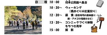 2008年「玖木の一日橋めぐり」もみじ祭081104e