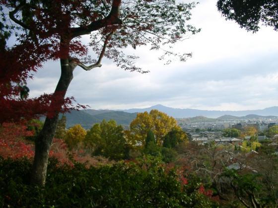 23常寂光寺から比叡山