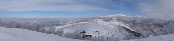 15法恩寺山山頂からの眺め