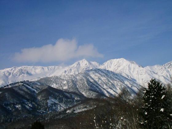 12 白馬鑓と杓子岳