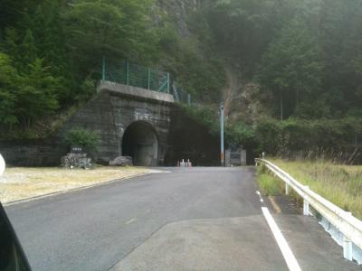 トンネルです~