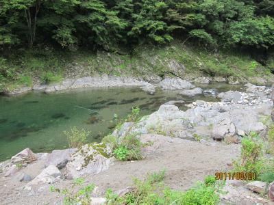 こんな感じの川~