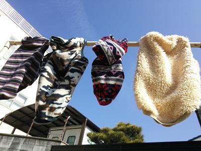 お洗濯日和♪