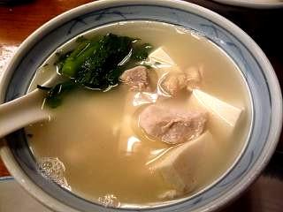 三州屋(鳥豆腐その1)