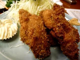 三州屋(牡蠣フライその2)
