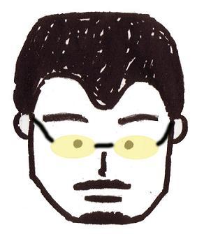 塾長似顔絵1のコピー
