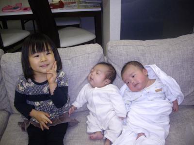我が子3人