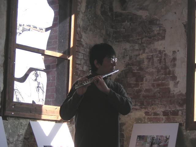 煉瓦館フルート演奏(2007年3月)