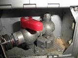 40年前の埋め込まれたと思われるガス栓