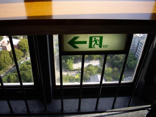 東京タワー非常口