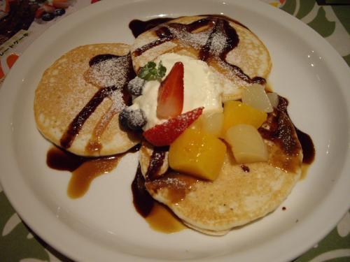 ハワイアンパンケーキ20111016