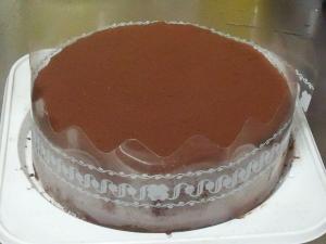 チョコレートケーキ再び 完成!