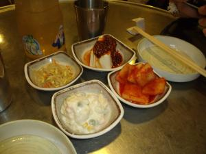 韓国料理(突き出し)