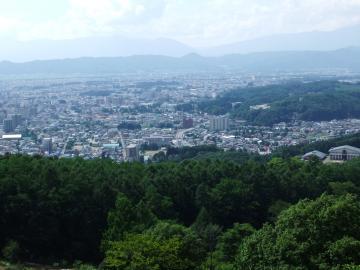 岩山展望台風景