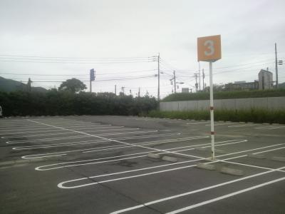参加者イオン駐車3番エリア