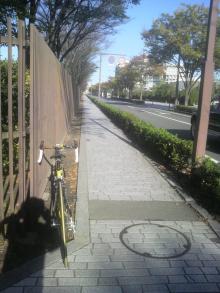 南北新路の石畳風路