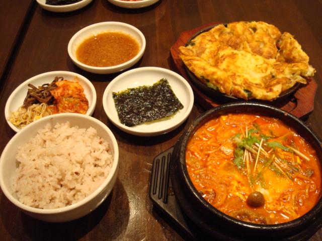 最近のお気に入り韓国料理!(^^)!